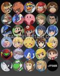 Smash 4 - Portrait Buttons