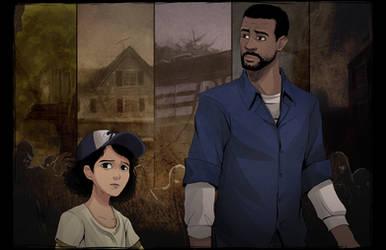 The Walking Dead by ffSade