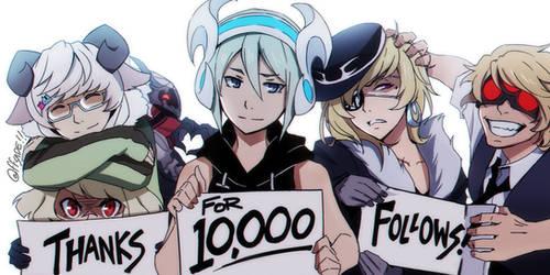Twitter 10K Follow Post - OCs