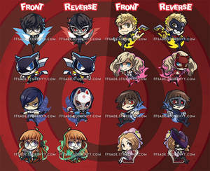 Persona 5 Charms!