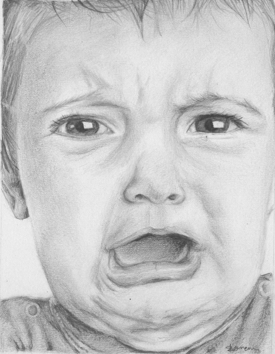 Crying Baby by SophieE...