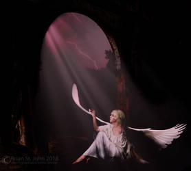 Fallen Angel 001 by drksnt