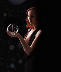 Snow Globe 1 by drksnt