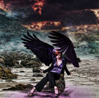 Fallen Angel by drksnt