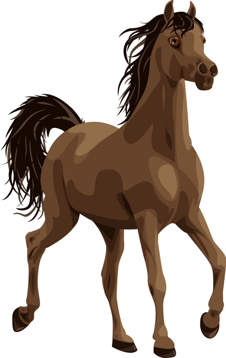 Alick,  the Vector Horse