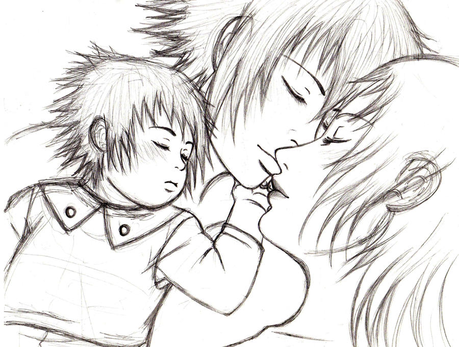 The gallery for --> Family Sketch Drawing