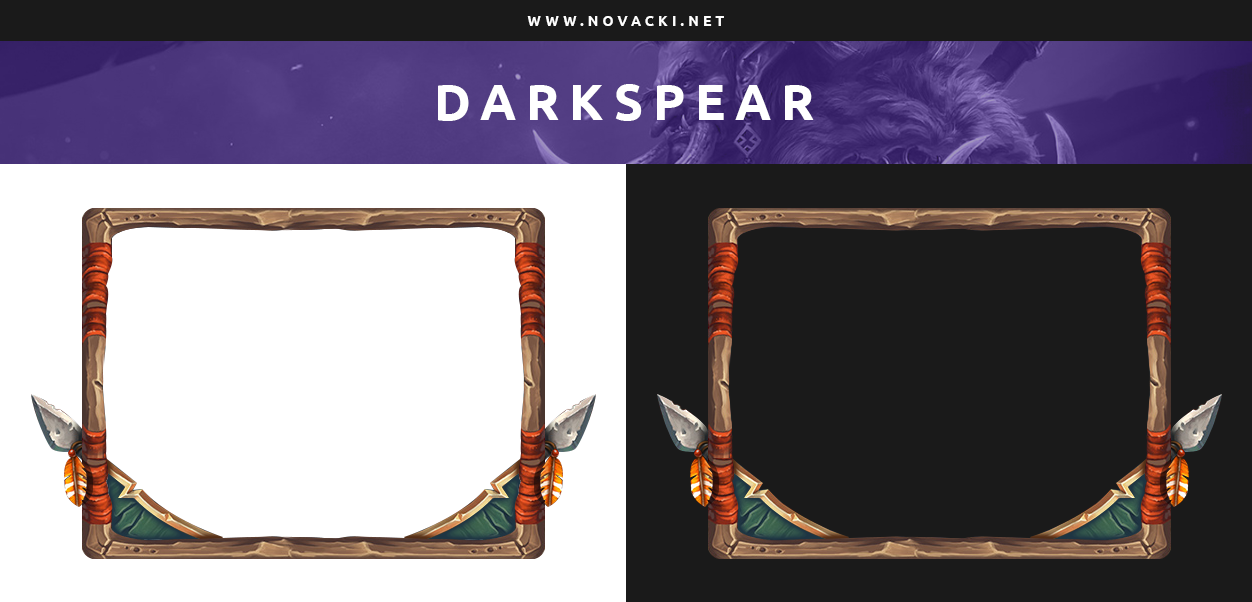 Darkspear - Hearthstone Cam Overlay by NovackiNet on DeviantArt