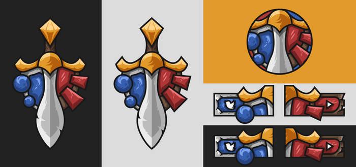 AllianceXHorde - Warcraft eSports Logo + Panels