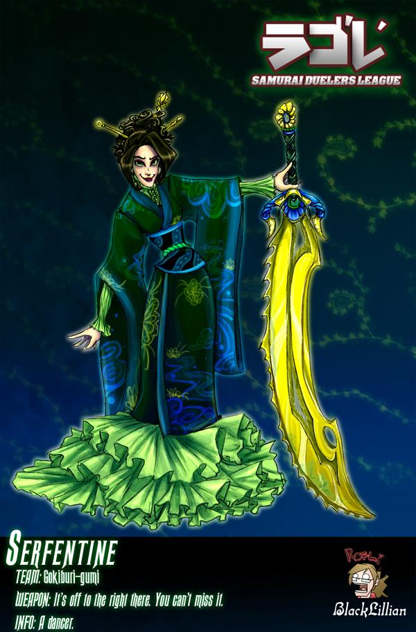 SDL: Dancing Serpent by terriblenerd