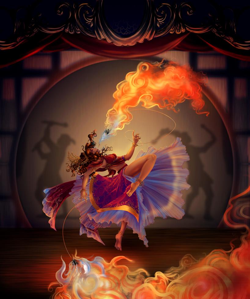 Hands Into the Fire by terriblenerd