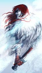 Red Snowja by terriblenerd