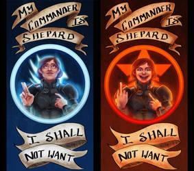 O Commander, My Commander by terriblenerd