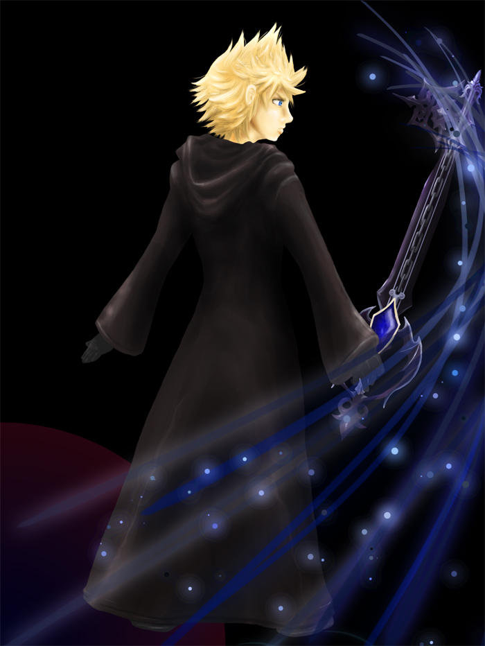 Not Alone--Roxas's Corner by terriblenerd