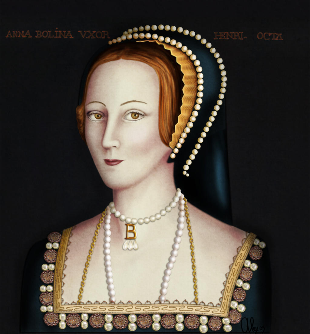 Anne Boleyn by alexasrosa