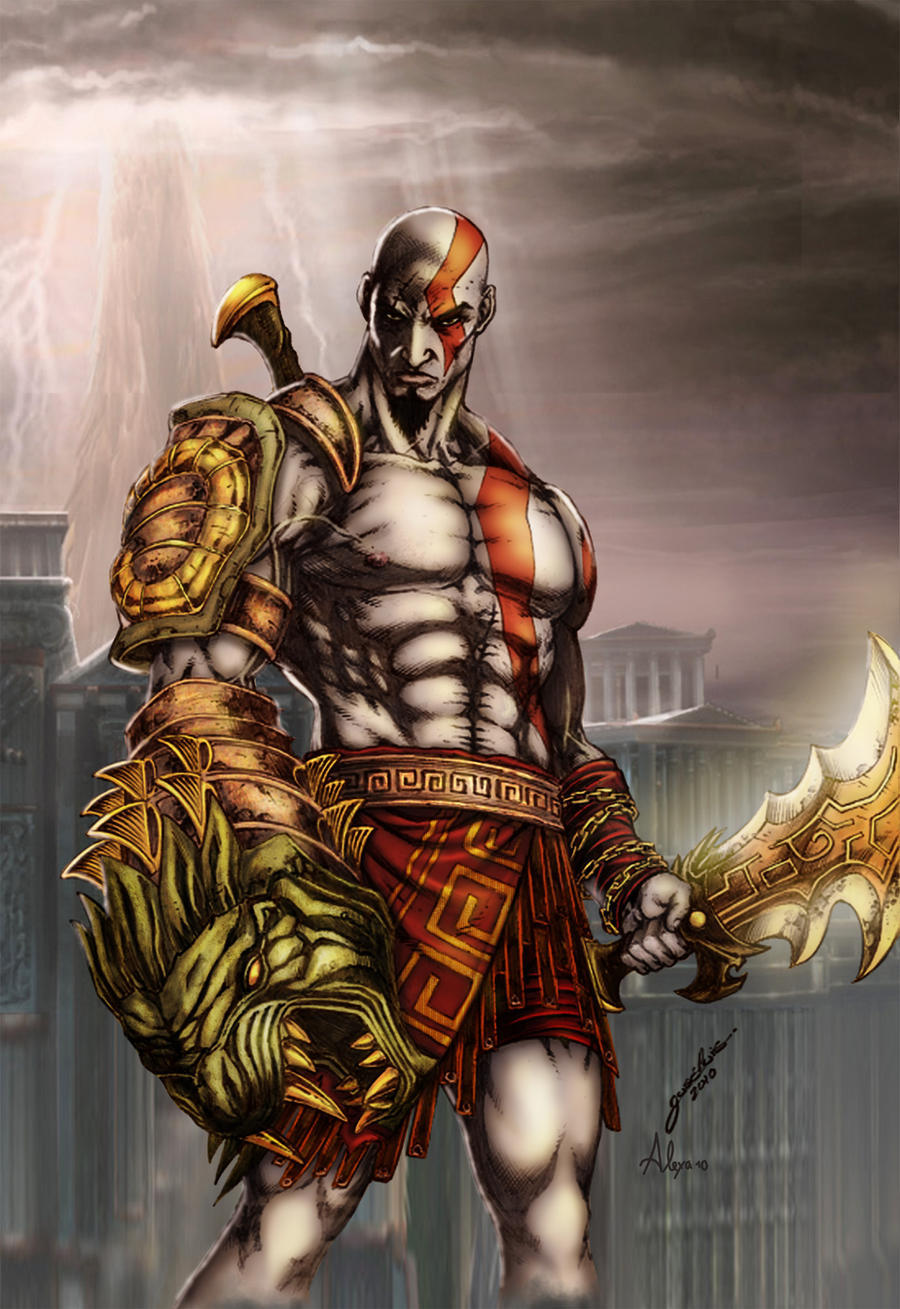 god of war 3 costumes how to get them