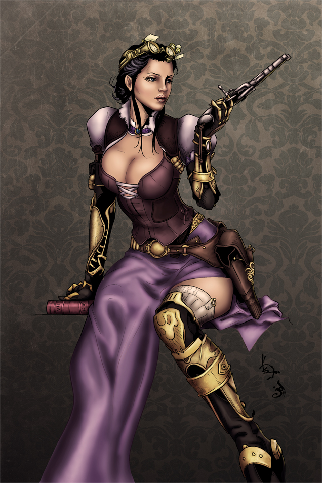Lady Mechanika by alexasrosa