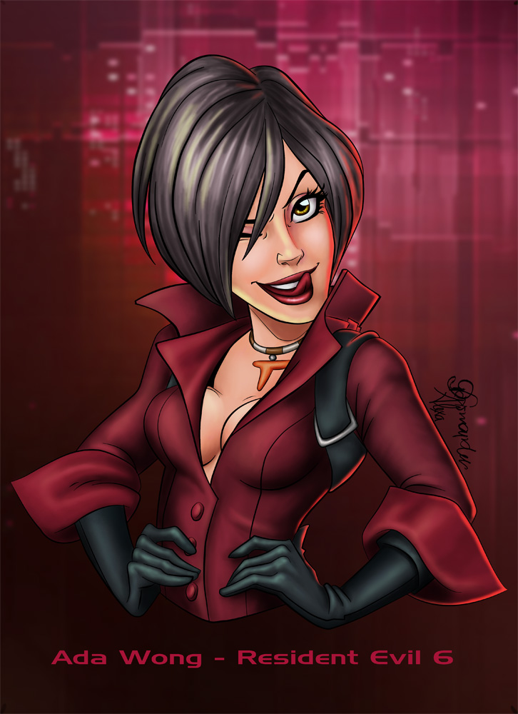 ada wong coloring pages - photo#34