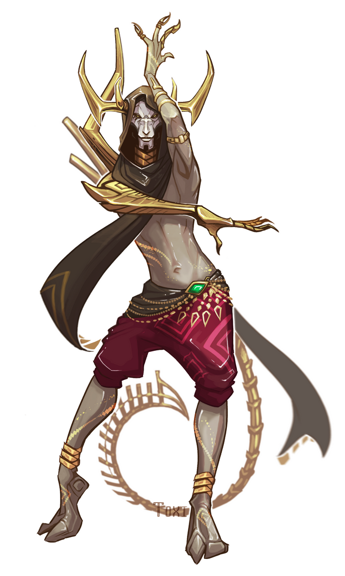 Golden demon by byToxi