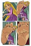 Rapunzel stompscomic by Art-2u