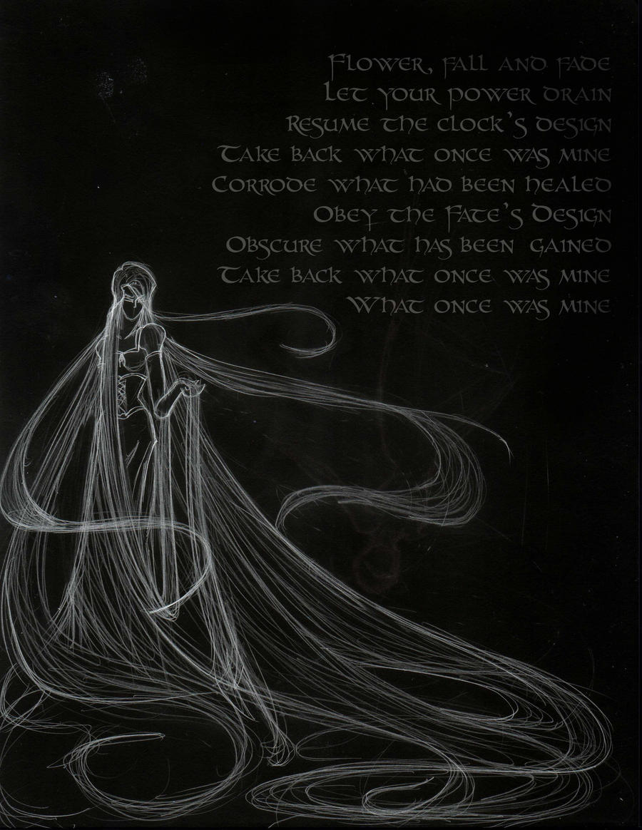Rapunzel S Dark Incantation By Echelonangel15 On Deviantart