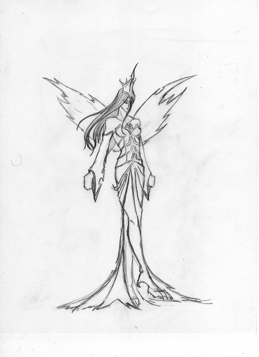 Queen Chrysalis by echelonangel15