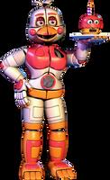 Freddy Fazbear's Pizza Simulator Funtime Chica