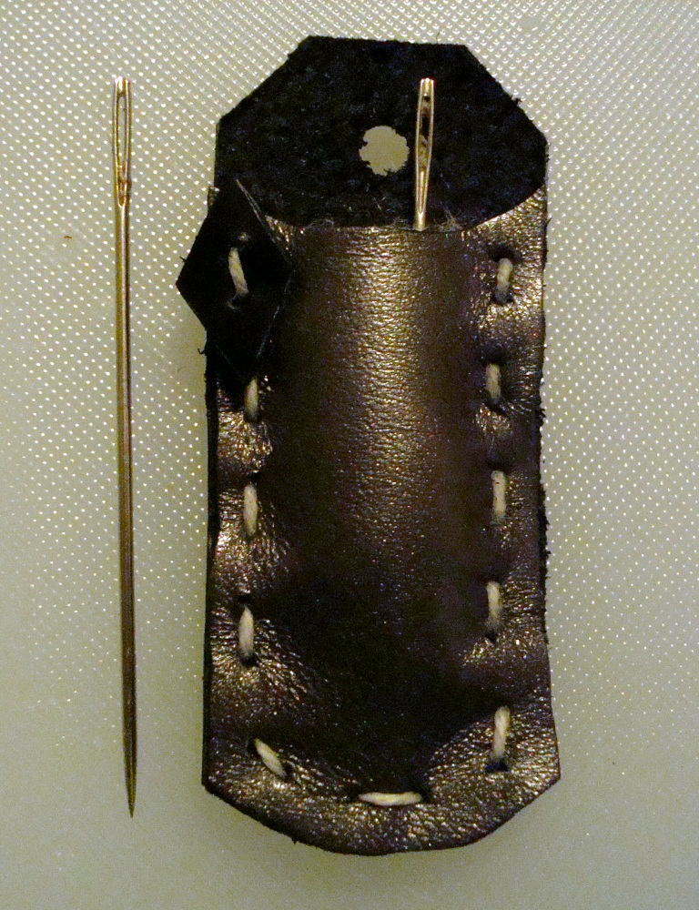 Needle Case, Black Diamond by flufdrax