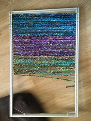 New Rug Loom In Progress by flufdrax