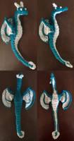 Dragon-ish Yarn Doodle