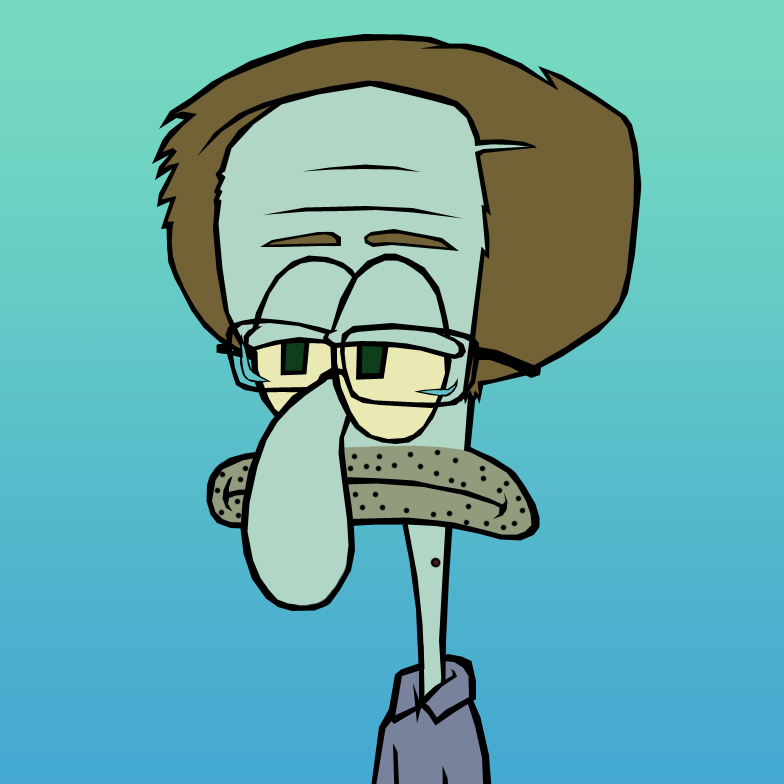 Squidward Snowden by pyromobile