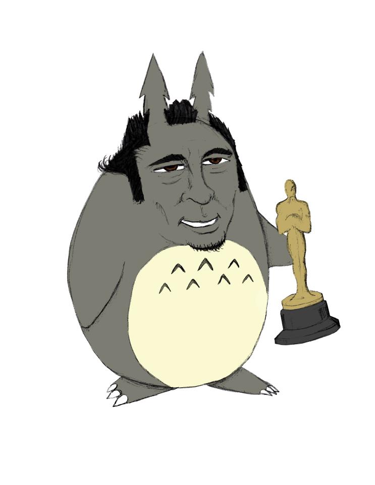 Benicio Del Totoro by pyromobile