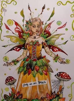 Little Autumn Fairy