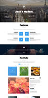 Pulse premium one page bootstrap template