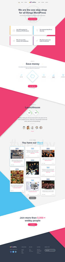Webby - web design