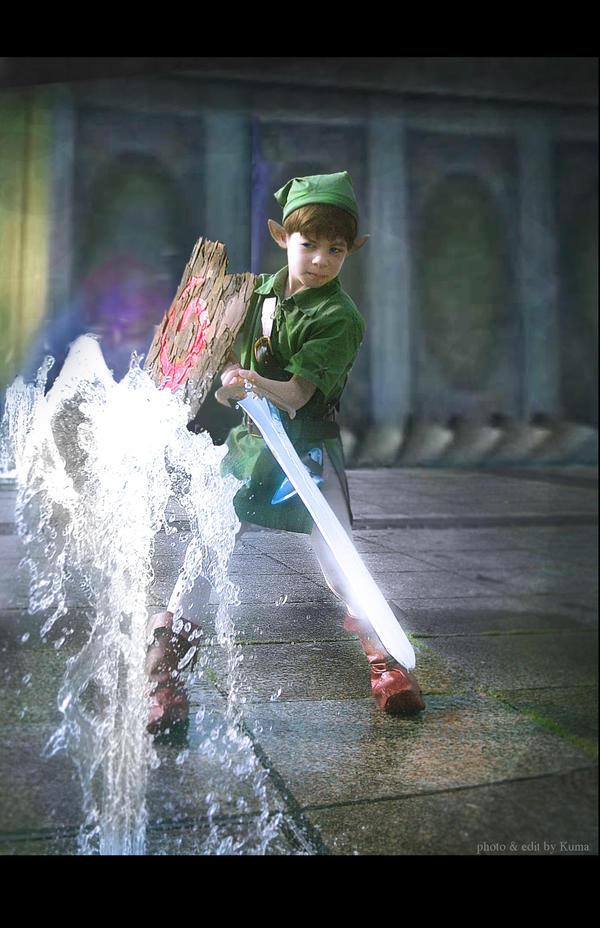Young Link vs. Morpha I by Kumamana