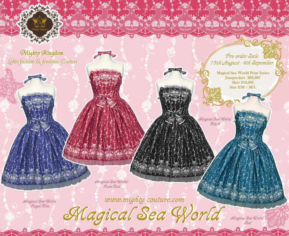 Magical Sea World Pre-order by Kumamana