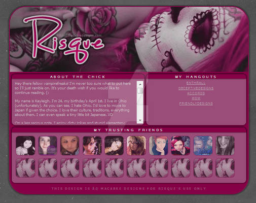Profile Layout - Risque