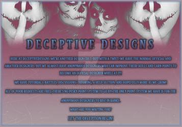 Invite Banner - DeceptiveDesigns