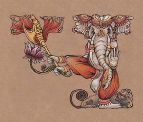 Ganesh by MukilteoCasualtie