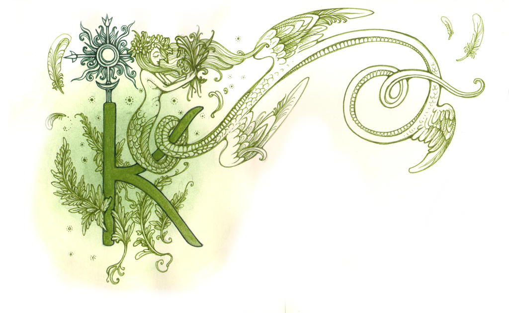 Letter K by MukilteoCasualtie
