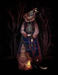 Weaving Crow