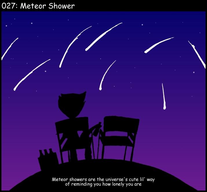 Meteor Shower by FW-Tabb