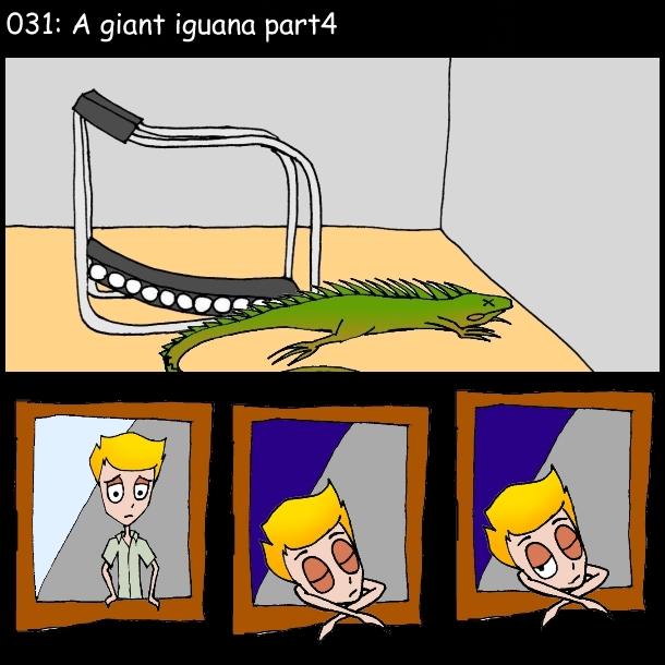A giant iguana 4 by FW-Tabb