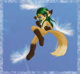 jumping blowball by nya-Natsuki