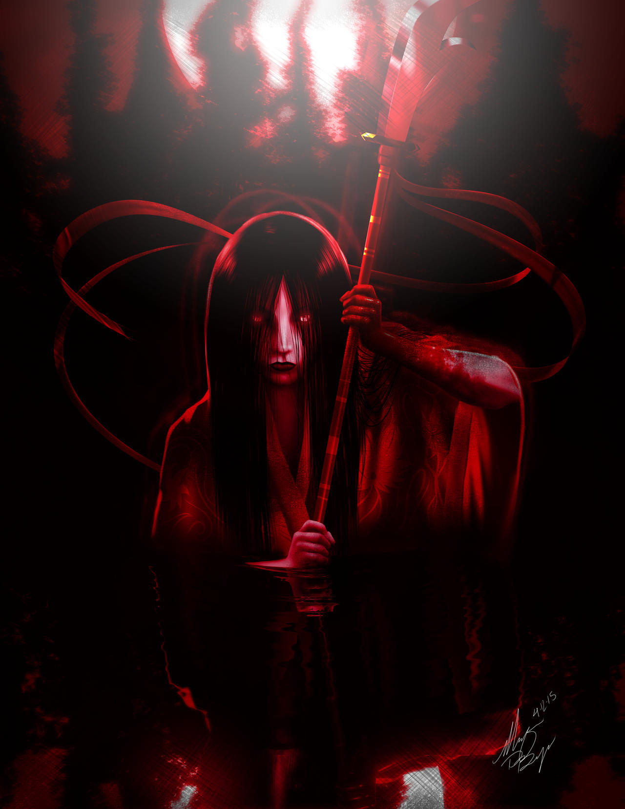 Hisako Red by Digi-Ink-by-Marquis