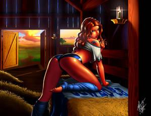 Cowgirl (Barnyard Babe)