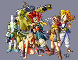 Chrono Trigger by Digi-Ink-by-Marquis