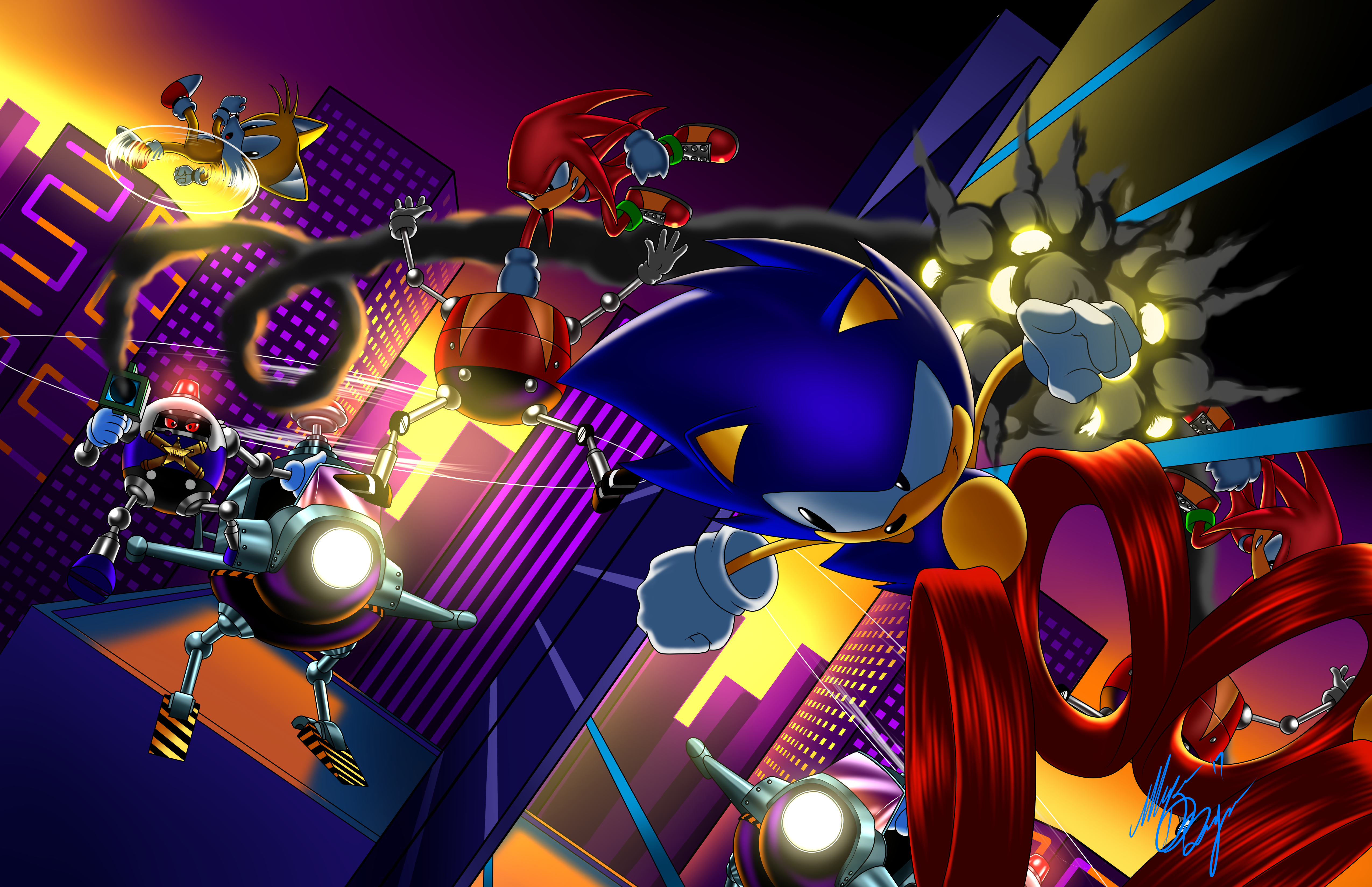 Sonic Mania by DigiInkbyMarquis