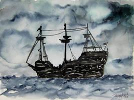 pirate ship by derekmccrea