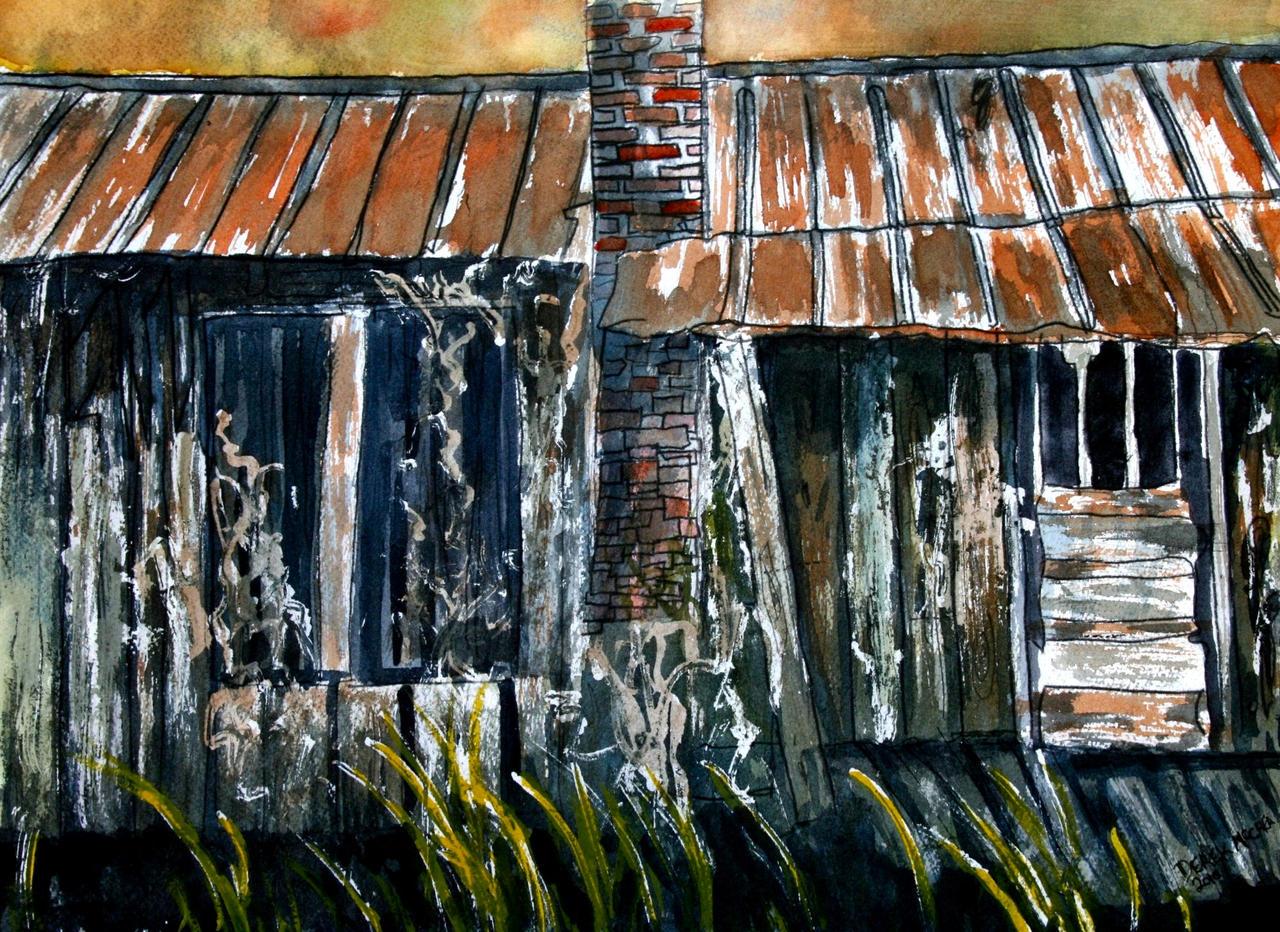 Vintage Rustic Old Barn House By Derekmccrea On Deviantart